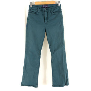 NYDJ Not Your Daughters Jeans Boot Cut Green 8P
